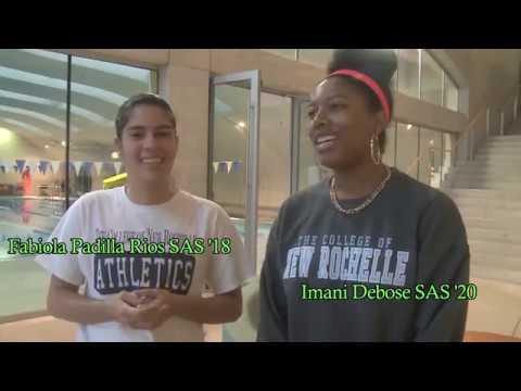 Imani Debose, SAS '20 and Fabiola Padilla Rios, SAS '18