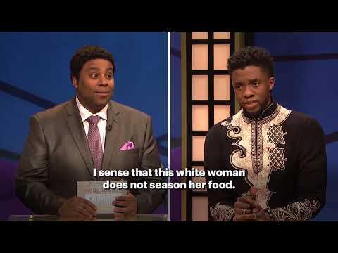 Chadwick Boseman breaks down the SNL Potato Salad skit