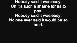 Coldplay - The scientist (Lyrics)