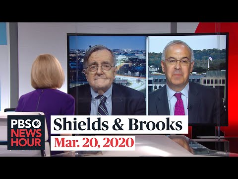 Shields and Brooks on American life amid a pandemic
