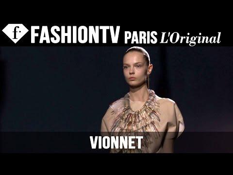 Vionnet Spring/Summer 2015 FIRST LOOK | Paris Fashion Week | FashionTV