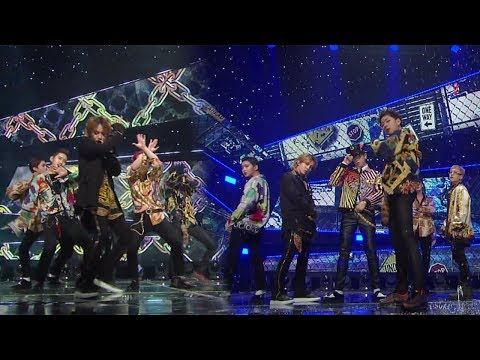 《MISCHIEVOUS》 Block B(블락비) - Shall We Dance @인기가요 Inkigayo 20171119