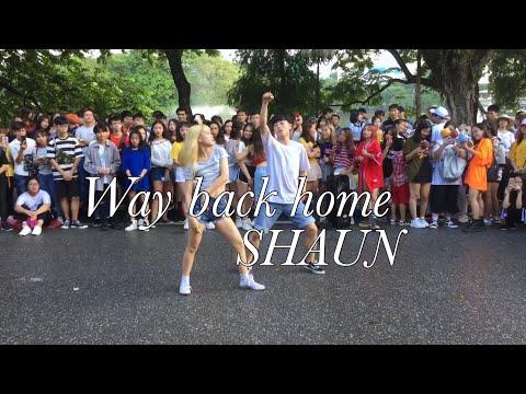 [STREET PERF] SHAUN (숀 )- Way Back Home (집으로 가는 길) CHOREOGRAPHY by Liz PST x Tu Khi