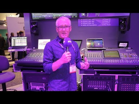 LIVE FROM #AVID AT #NABSHOW   Robert Scovill shows VENUE   S6L-16C and S6L-24C