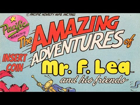 The Amazing Adventures of Mr. F. Lea (1982) - Arcade - 2 Loops