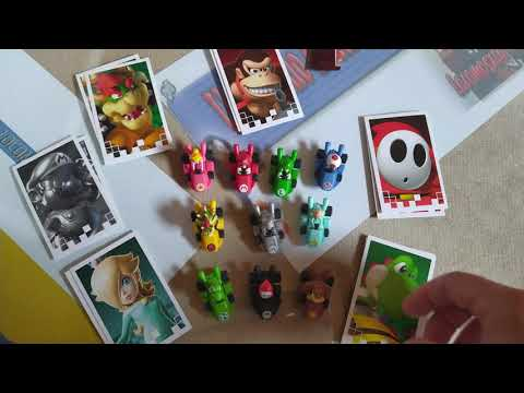 Unboxing Monopoly Mario Kart Power Packs