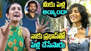 Niharika Reacts On Her Marriage Gossips with Prabhas- Inte..