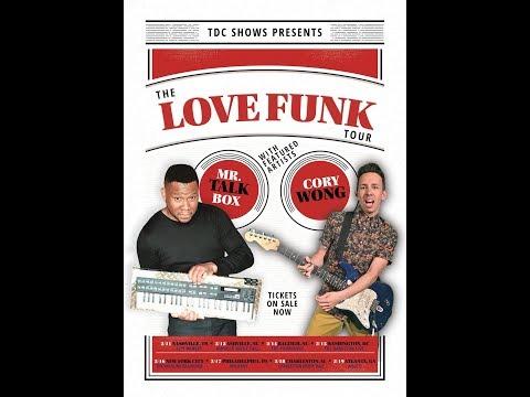 Cory Wong Full Set (Love Funk Tour) @ Asheville Music Hall 2-12-2018
