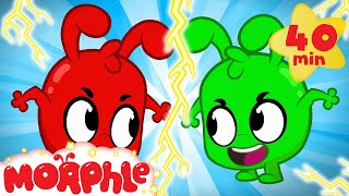 MORPHLE AND THE EVIL TWIN! - My Magic Pet Morphle   Cartoons For Kids   Morphle TV   BRAND NEW
