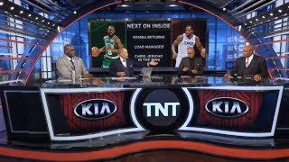 INSIDE THE NBA Show Full   Shaquille O'neal Shocked: LA Clippers 107-101 Portland , Kawhi Leonard