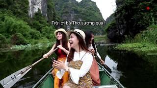 Lan Anh in Ninh Binh (Hậu trường)