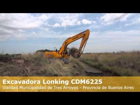 Excavadora CDM6225