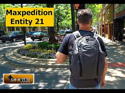 New Maxpedition Enitity 21 Backpack Review