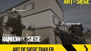 Tom Clancy's Rainbow Six Siege - Art of Siege Trailer