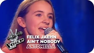 Felix Jaehn - Ain't Nobody (Antonella) | Blind Auditions | The Voice Kids 2016 | SAT.1