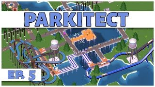 Parkitect - Ep. 5 - The Water Park  - Let's Play - [Parkitect Gameplay]