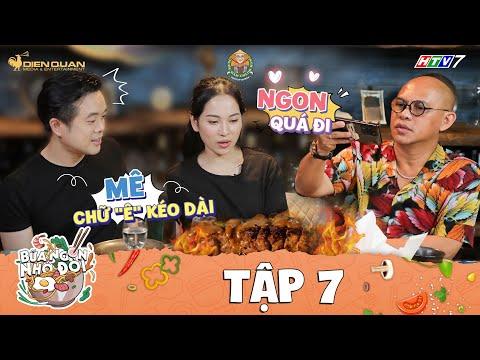 Bữa Ngon Nhớ Đời | Tập 7: Color Man đổ mồ hôi hột với độ sành ăn của Dương Khắc Linh, Sara Lưu