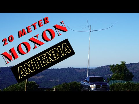 How to make a 20 meter Moxon for Home or Portable use.