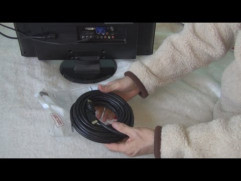 Unboxing and test of Cablexpert High Speed HDMI cable with Ethernet 10 m in 3D