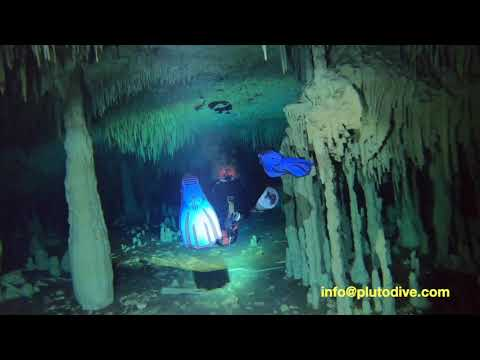 Cave Diving with Scooter | Pluto Dive