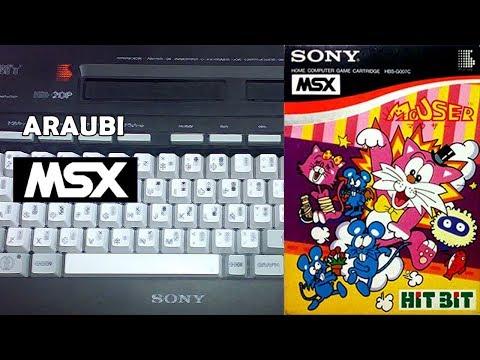 Mouser (UPL, 1983) MSX [580] Walkthrough Comentado