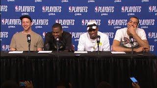 Utah Jazz Postgame Interview   Jazz vs Rockets - Game 2   May 2, 2018   2018 NBA Playoffs