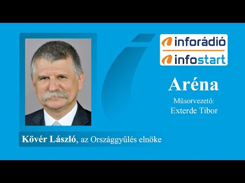 InfoRádió - Aréna - Kövér László - 2020.07.07.