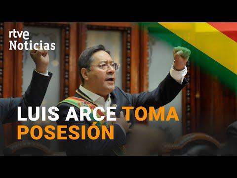 Luis Arce TOMA POSESIÓN  y se CONVIERTE en el nuevo PRESIDENTE de BOLIVIA I RTVE