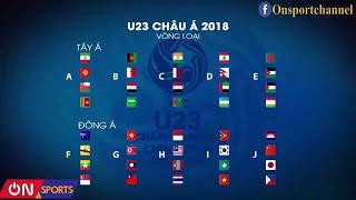 Cơ hội của U23 Việt Nam để vượt qua vòng loại U23 Châu Á 2018