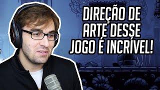 A DIREÇÃO DE ARTE DESSE JOGO É INCRÍVEL!? - HOLLOW KNIGHT GAMEPLAY!