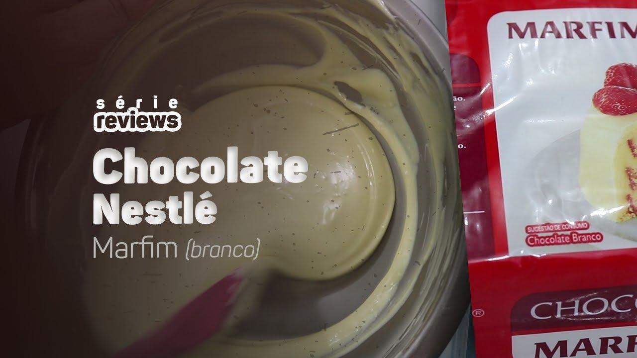 FIZ O TESTE DO CHOCOLATE NESTLÉ MARFIM - REVIEW 11