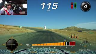 We Ride in the New Chevrolet Corvette ZR1 at Willow Springs International Raceway