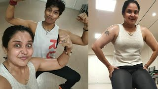 Watch: Pragathi Mahavadi latest workout video..