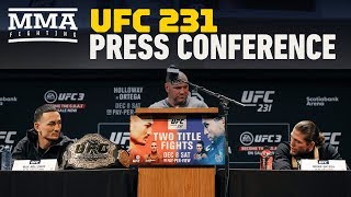 UFC 231 Pre-Fight Press Conference - MMA Fighting