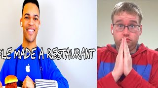 If Apple Made A Restaurant REACTION!