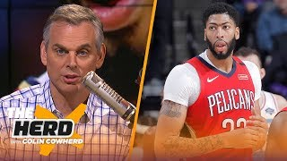 Colin Cowherd: The Lakers-Pelicans situation 'is a mess', talks two sides of LeBron | NBA | THE HERD