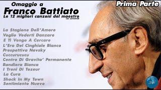 FRANCO BATTIATO - COMPILATION 12 MIGLIORI CANZONI DEL MAESTRO *PRIMA PARTE* - DiscoBattiato