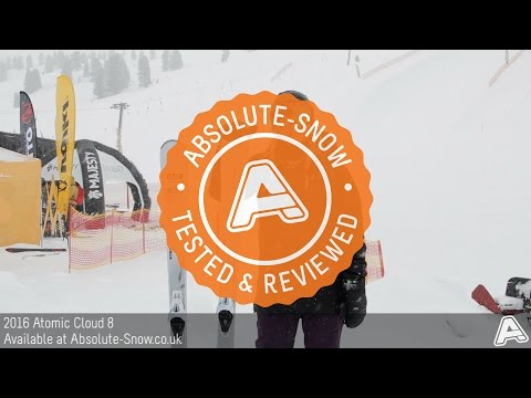 2015 / 2016 | Atomic Cloud 8 Ski | Video Review