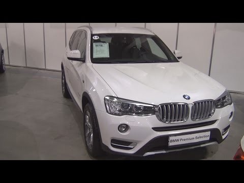 BMW X3 xDrive 20d (2016) Exterior and Interior in 3D