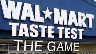 Walmart Brand vs Name Brand Taste Test: The Game