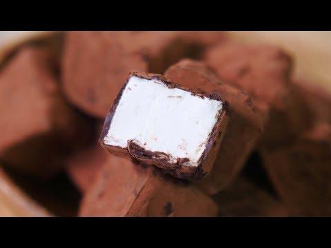 초콜릿 마쉬멜로우 만들기 (+먹는소리) Chocolate Marshmallows   한세 HANSE