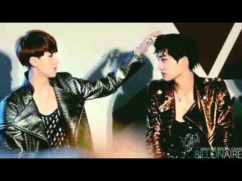 120602 [FANCAM] Sehun and Kai EXO-K Genie AR Show