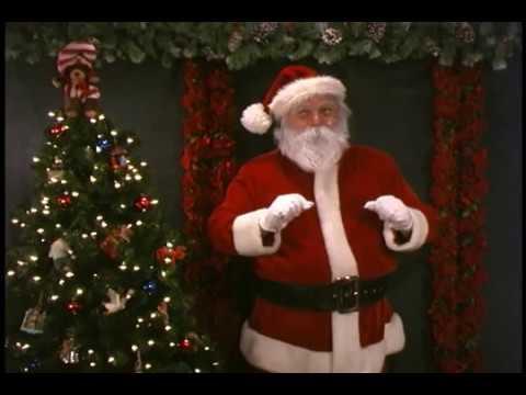 Jingle Bells, Santa Claus Singing his Favorite Christmas Song