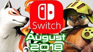 10 Nintendo Switch Games Coming August 2018!