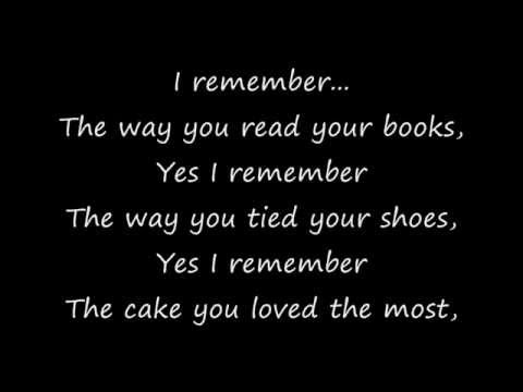 Mocca-I Remember (Lyrics on Screen)