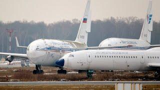 Ил-96 - 10 минут полета после 10 лет хранения / RA-96006
