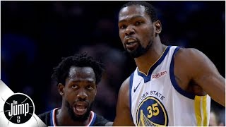 Patrick Beverley on Kevin Durant: 'I hope' he's in my conference after free agency | The Jump