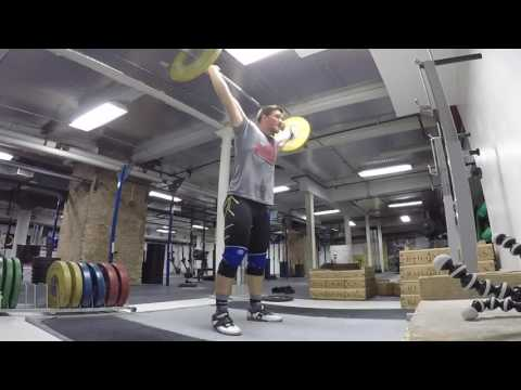 GoPro Weightlifting: Snatch Complexes with Mike Dewar at 50-80% RM