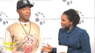 Russell Simmons on 'Run's House' and 'Running Russell Simmons' (Media Beat 3 of 3)