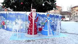 Новогоднюю ель в Артёме уберут до конца января